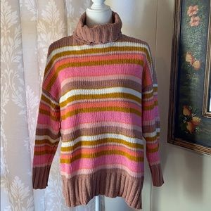 Aerie Colorful Chenille Sweater